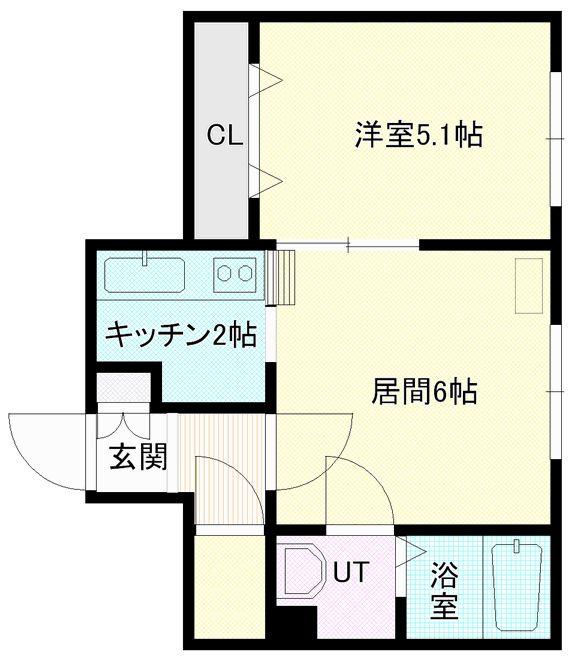 マープル円山5号室
